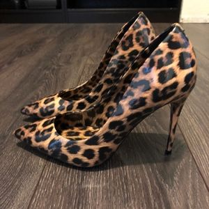 Aldo Animal Print Stiletto